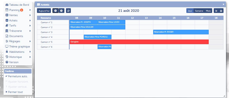 PMC Logiciels - Activités jour matériels
